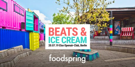Beats & Ice Cream (by foodspring) Tickets