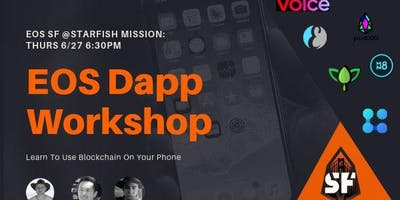EOS SF Dapp Workshop