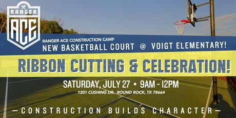 RangerACE Basketball Court Ribbon Cutting & Celebration tickets