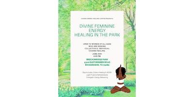 Divine Feminine Energy Healing in the Park