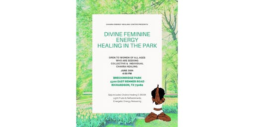 Divine Feminine Energy Healing in the Park