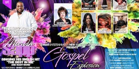 Gospel Explosion w/ Marvin Sapp tickets