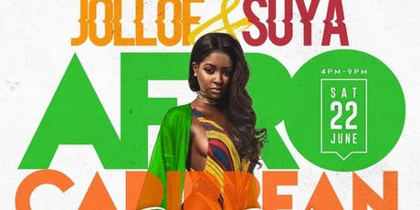 Jollof and Suya AfroCaribbean Day Party tickets
