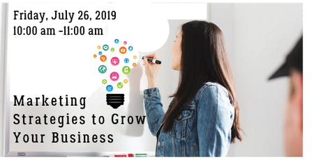 Marketing Power Hour - Marketing Strategies to Grow Your Business tickets