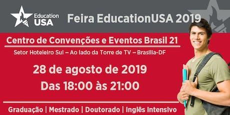 Feira EducationUSA 2019 - Brasilia tickets