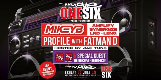 Move One Six-Mikey B-Profile-Mc Fatman D-Sox