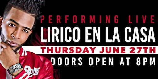 Lirico en la Casa Performing Live @Barcode