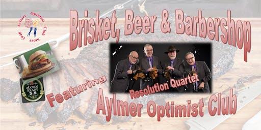 Brisket, Beer & Barbershop
