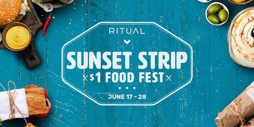 $1 Food Festival - Sunset Strip