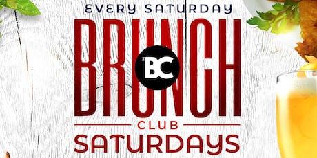 BRUNCH CLUB SATURDAYS tickets