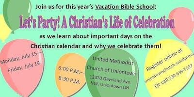 Vacation Bible School UNIONTOWN