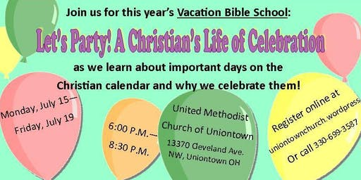 Vacation Bible School UNIONTOWN