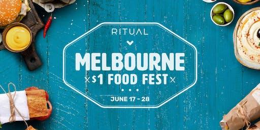 $1 Food Festival - Melbourne
