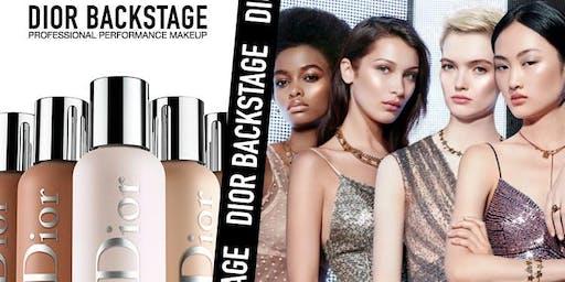 Dior Backstage Make up workshop