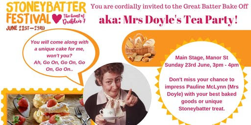 Mrs Doyle's Tea Party - The 2019 Batter Bake Off