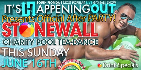 Weekly Charity Pool Party - Stonewall Pride Weekend! tickets