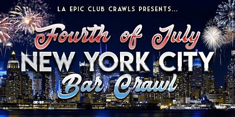 4th of July Weekend - NYC Bar Crawl tickets