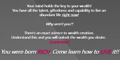 Unlock Your Mind to Wealth Creation