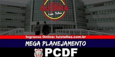 BRASÍLIA-DF | ARTE DA GUERRA - MEGA PLANEJAMENTO PCDF ingressos