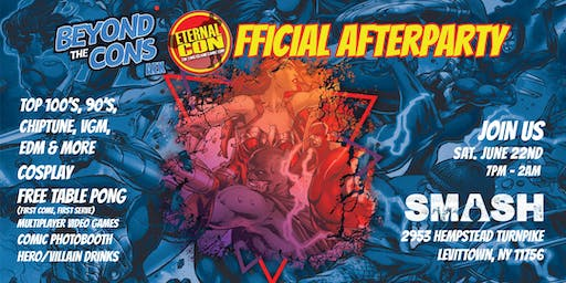 Beyond The Cons AEX Presents - The Official Eternal Con Afterparty 2019