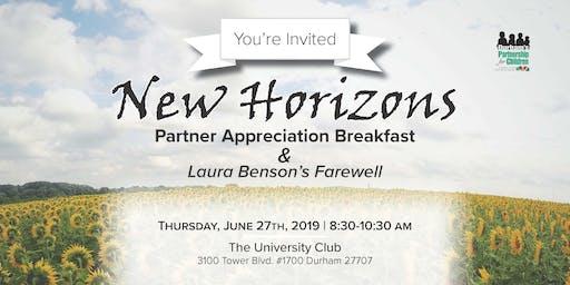 New Horizons: Partner Appreciation Breakfast