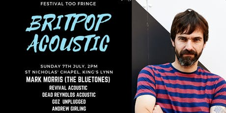 Festival Too Fringe - Britpop Afternoon tickets