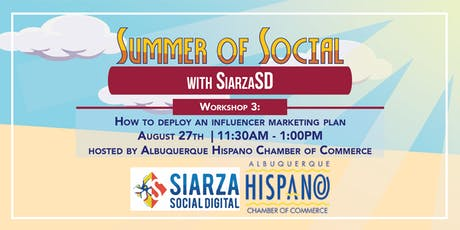 Summer of Social: How to Deploy an Influencer Marketing Plan tickets
