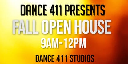 Dance 411: 2019 Fall Open House & Open House Week