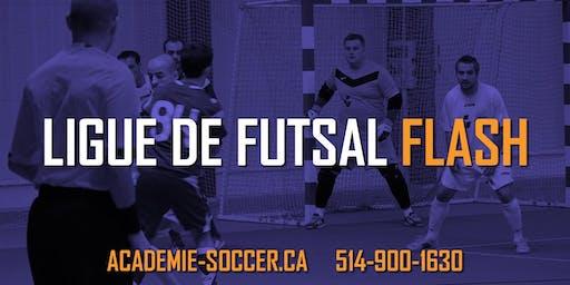Ligue de soccer Adulte 5 vs 5 (Futsal) - Saison d'Hiver 2019-2020 (20 matchs)
