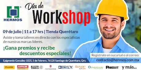 Día de Workshop Querétaro entradas