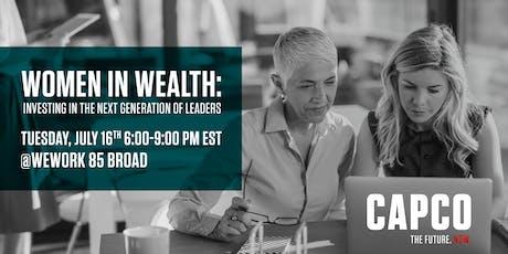 Capco Women In Wealth  tickets