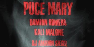 Puce Mary, Damion Romero, Kali Malone, DJ Amanda Siegel