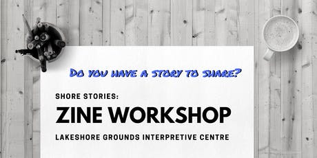 Shore Stories: Zine Workshop tickets