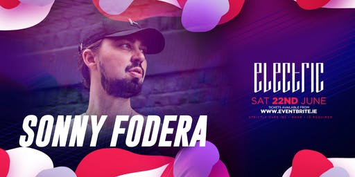 Sonny Fodera at Electric Galway