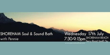 SHOREHAM summer Soul & Sound Bath tickets