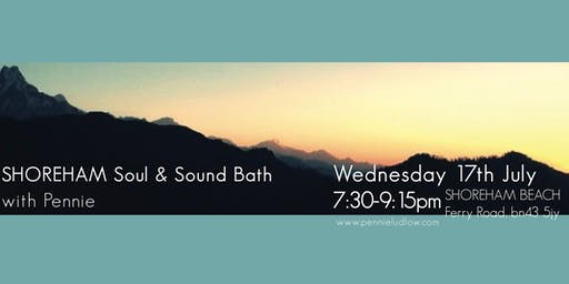 SHOREHAM summer Soul & Sound Bath