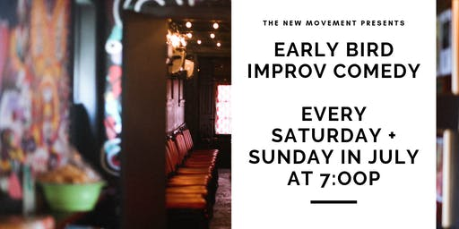 Early Bird Improv Comedy