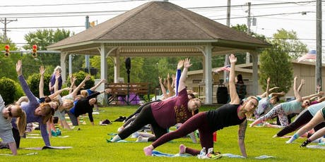 Community in the Commons ~ FREE Yoga in the Park tickets