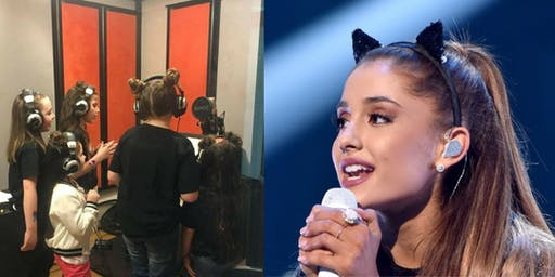 Ariana Grande Themed Recording Session and Activities