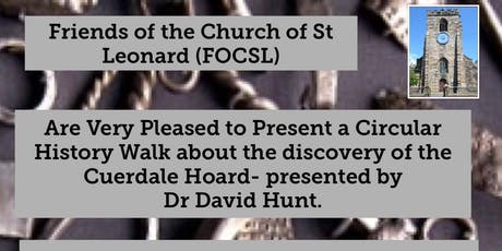 Historical Walk: The Cuerdale Hoard - presented by  Dr David Hunt. tickets