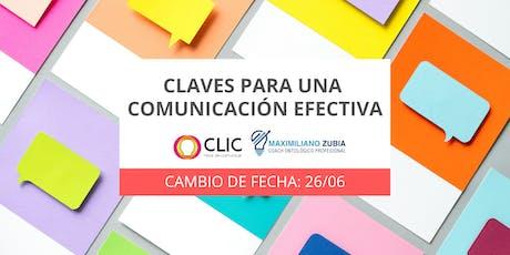 Claves para una Comunicación Efectiva tickets
