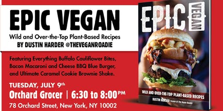 EPIC VEGAN LAUNCH PARTY  tickets