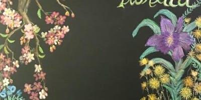Hearts & Flowers Art Class