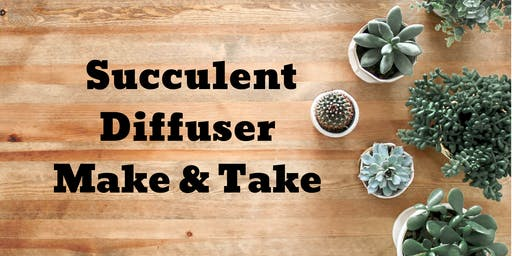 Copy of Succulent Diffuser Make & Take