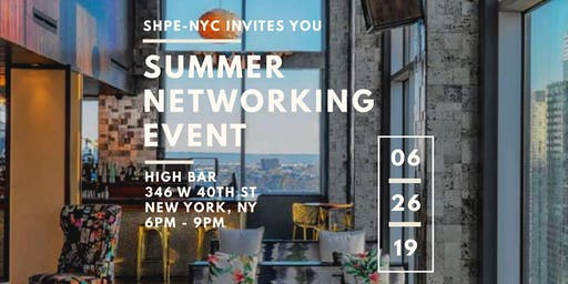 SHPE NYC Summer Networking Event