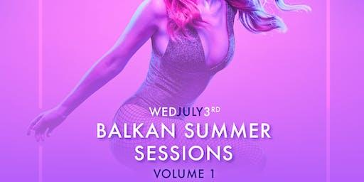 Balkan Summer Sessions - Vol 1 at No.9 (PRYSM)