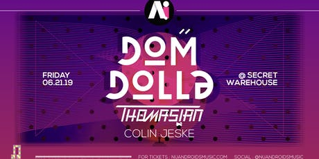 Dom Dolla at A.i [Secret Warehouse] (21+) tickets
