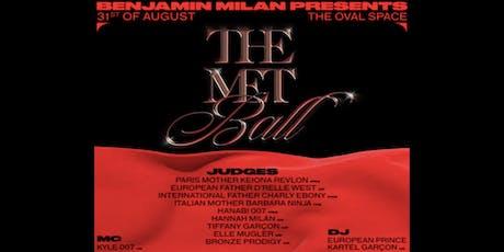 The Met Ball by Benjamin Milan  tickets