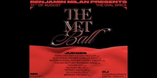 The Met Ball by Benjamin Milan