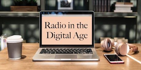 Radio In The Digital Age - Forum tickets